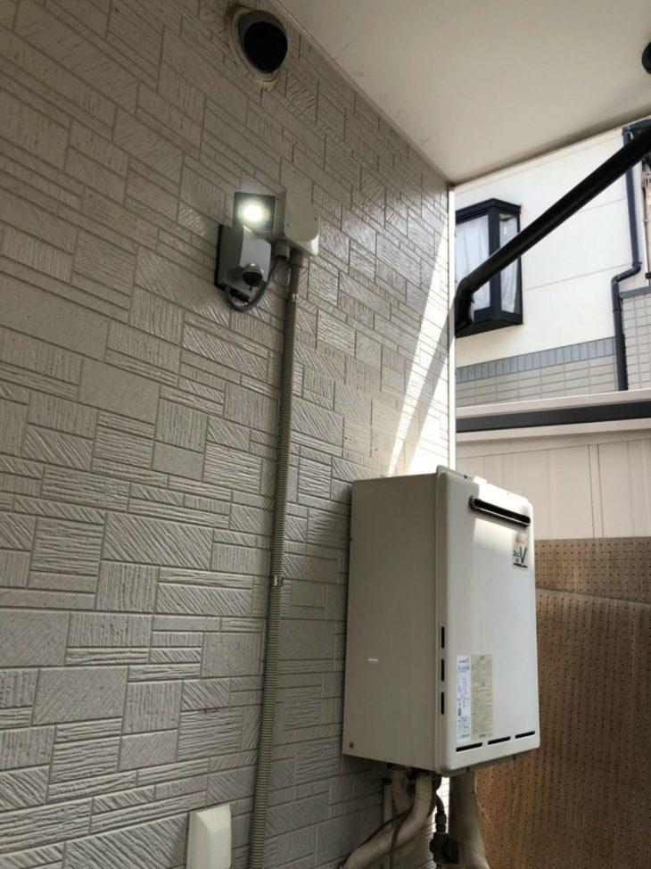 三芳町M様邸 外照明取付工事