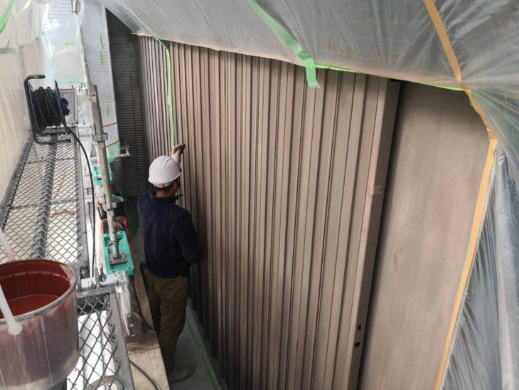 川合住宅設備(株)の塗装工事⑥