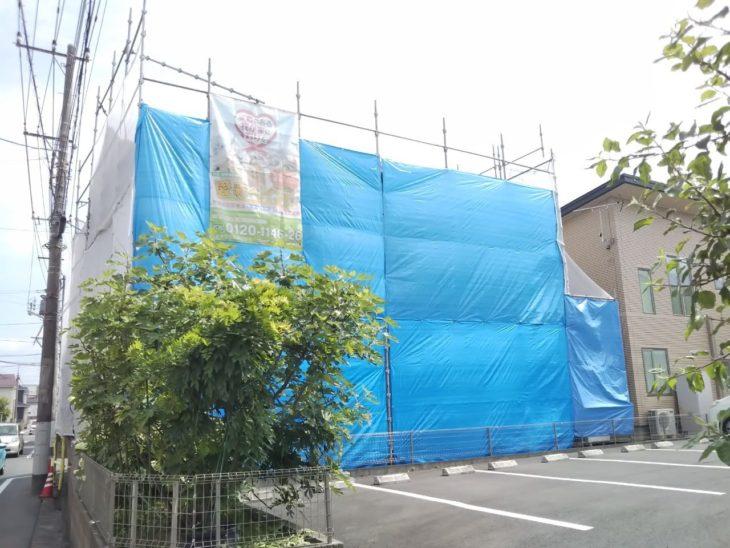 川越市I様邸 外壁塗装工事②