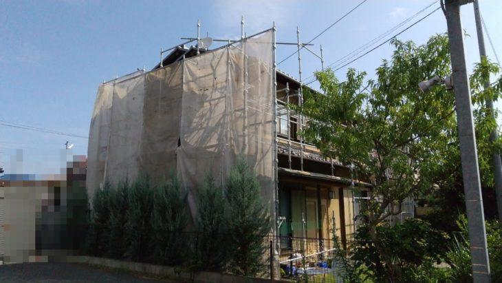 川越市H様邸 外壁塗装工事②